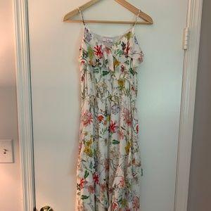 Parker White Floral 'Vanna' Dress